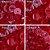Botão Ritas, Tamanho 12mm, Pacote com 50 unidades, Cor Vermelho - Imagem 1