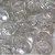 Botão Ritas, Tamanho 12mm, Pacote com 50 unidades, Cor Transparente - Imagem 1