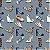 Tecido Sapatos digital 100% algodão - Imagem 1