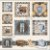 Painel Roupas e Sapatos digital 100% algodão - Imagem 1
