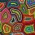 TECIDO CROCHE GEOMETRICO DIGITAL TRICOLINE 100% ALGODÃO 0,50 POR 1,50 LARGURA - Imagem 1