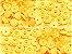 Botão Ritas, Tamanho 12mm, Pacote com 50 unidades, Cor VANILA - Imagem 1