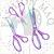 TESOURA TITANIUM CABO SOFT - KIT 3UN - Imagem 2