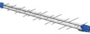 Antena Digital para Tv 28 Elementos Proeletronic PROHD-1040DB UHF – HDTV – FULL HD - Imagem 2