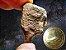 Meteorito Egípcio Gebel Kamil + Moeda de Ouro Nórdico da Cratera - Imagem 1