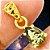 Moldavita Genuína Lapidada em Pingente de Prata 925 Banhada a Ouro - Imagem 5