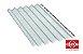 Brasilit Telhas 2.44 x 1.10 (5mm) - Imagem 1