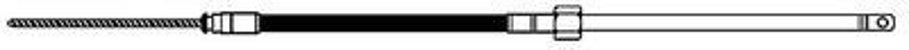 Cabo de Direção Náutico 18 pés Uflex M66X18 - Imagem 3