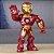 Boneco Homem de Ferro Super Hero Marvel Iron Man - Imagem 2
