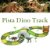 Pista Dinossauro Track Com Túnel E Acessórios 109 Peças - Imagem 5
