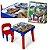 Mesinha Mesa Infantil Com Cadeira Dinossauro Didática - Imagem 1
