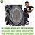 Prótese Capilar Parcial Híbrida Australia (12,5 x 17,5 cm) 0,06mm #1A Castanho Escuro Intenso + Curso de Auto Manutenção Grátis - Imagem 1