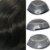 Prótese Capilar Parcial Híbrida Australia (15 x 20cm) 0,06mm #1B Castanho Escuro + Curso de Auto Manutenção Grátis - Imagem 2
