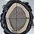 Prótese Capilar Fine Mono (15X22,5 cm) #1B Castanho Escuro + Curso de Auto Manutenção Grátis - Imagem 5