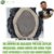 Prótese Capilar Fine Mono  (17,5 X 22,5 cm) #1B Castanho Escuro + Curso de Auto Manutenção - Imagem 1