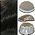 Prótese Capilar Parcial Q6 (17,5 X 25 cm) #1B Castanho Escuro + Curso de Auto Manutenção Grátis - Imagem 2