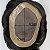 Prótese Capilar Mono Duro (17,5 x 22,5 cm) #1B Castanho Escuro + Curso de Auto Manutenção Grátis - Imagem 6