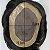 Prótese Capilar Mono Duro (17,5 x 22,5 cm) #1B Castanho Escuro + Curso de Auto Manutenção Grátis - Imagem 5