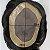 Prótese Capilar Mono Duro (15 x 20 cm) #1B Castanho Escuro + Curso de Auto Manutenção Grátis - Imagem 5