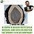 Prótese Capilar Mono Echo (17,5x22,5 cm) #1B Castanho Escuro + Curso de Auto Manutenção Grátis - Imagem 1