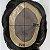 Prótese Capilar Mono Duro (20 x 25 cm) #1B Castanho Escuro + Curso de Auto Manutenção Grátis - Imagem 5