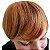 Franja Postiça / Aplique Loiro Médio Ombré Hair 15 cm - Imagem 2