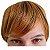 Franja Postiça / Aplique Loiro Médio Ombré Hair 15 cm - Imagem 1