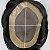 Prótese Capilar Mono Duro com Corte Pronta para o Uso (17,5 x 22,5 cm) #1B Castanho Escuro + Curso de Auto Manutenção Grátis - Imagem 7