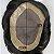 Prótese Capilar Mono Duro com Corte Pronta para o Uso (15 x 22,5 cm) #1B Castanho Escuro + Curso de Auto Manutenção Grátis - Imagem 8