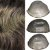 Prótese Capilar Thin Skin (20 x 25 cm) #2 Castanho Médio Com 30% de Grisalhos + Curso de Auto Manutenção Grátis - Imagem 2