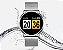 Relógio Eletrônico Smartwatch CF Gear - Prata - Imagem 3