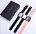 Relógio Eletrônico Smartwatch CF T80 - Preto com Prata - Android e iOS - Imagem 2