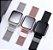 Relógio Eletrônico Smartwatch CF T80 - Prata Milanese - Android e iOS - Imagem 2