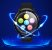 Relógio Smartwatch CF L3 - Preto com Azul -  iPhone ou Android - Imagem 4