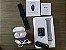 Relógio Eletrônico Smartwatch P68 Prata + Pulseira de Brinde + Fone de Ouvido - Imagem 5