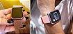 Relógio Eletrônico Smartwatch CF N99 Rosê Gold + 1 Pulseira de Brinde Rosa - Imagem 2