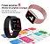Relógio Eletrônico Smartwatch CF N99 Chumbo + 1 Pulseira de Brinde Preto - Imagem 9
