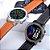 Relógio Eletrônico Smartwatch DT78 - Marrom Alaranjado - IOS e Android - Imagem 7