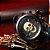 Relógio Masculino Big Dial Skull - Preto com Dourado - Aço Inox - Imagem 2