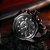 Relógio Masculino Big Dial Skull - Preto - Aço Inox - Imagem 2