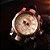 Relógio Masculino Big Dial Skull - Rosé com Preto - Aço Inox - Imagem 2