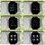 Relógio Eletrônico Smartwatch CF P80 - Gold + Pulseira Extra Silicone Marrom - Android e IOS - Imagem 3