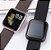 Relógio Eletrônico Smartwatch CF P80 - Gold + Pulseira Extra Silicone Marrom - Android e IOS - Imagem 8