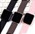 Relógio Eletrônico Smartwatch CF P80 - Rosé + Pulseira Extra Silicone Rosa - Android e IOS - Imagem 9