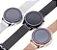Relógio Eletrônico Smartwatch L11 - Prata + Pulseira Extra Marrom - IOS e Android - Imagem 2