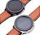 Relógio Eletrônico Smartwatch L11 - Marrom com Detalhes Preto + Pulseira Extra Preto Couro - IOS e Android - Imagem 2