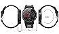 Relógio Smartwatch L6 - Preto com Vermelho - IOS e Android - Imagem 8