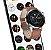 Relógio Smartwatch L16 - Prata com Pulseira Couro Marrom - IOS e Android - Imagem 6