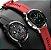 Relógio Smartwatch L16 - Prata com Pulseira Silicone Vermelho - IOS e Android - Imagem 3