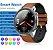 Relógio Smartwatch L17 - Prata com Pulseira Aço Prata - IOS e Android - Imagem 5